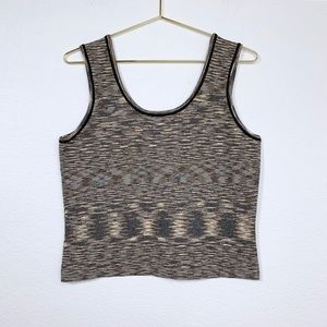 Anthropologie Space Dyed Sweater Tank